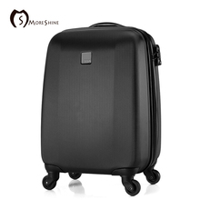 "20""24""28''inches Brand ABS Luggage, Universal wheels trolley, password lock Suitcase,waterproof hard wearing Boarding travel bag"