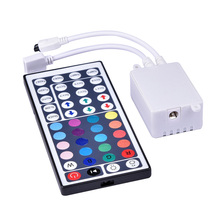 C8 44Keys LED IR RGB Controler For SMD 3528 5050 2835 LED Strip Lights Tape Ribbon mini IR Remote Wireless Dimmer Input DC12V 6A