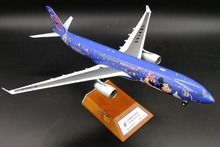 new Fine JCwings 1: 200 China Eastern Airlines  Airbus A330-300 B-6120 alloy passenger aircraft model XX2234 Collection model