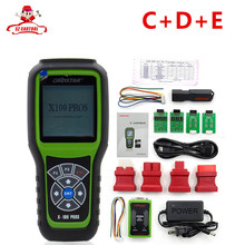 Hot!!!OBDSTAR X100 PROS C+D+E model Key Programmer with EEprom Adapter+IMMOBILISER+Odometer Adjustment Replace X-100 Pro