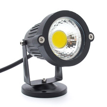 10W Led COB SMD Lawn lamps with Base DC 12V Outdoor Lighting IP65 Waterproof led Floodlight Garden Landscape spotlight