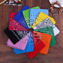 New Arrival Unisex Fashion Flowers pattern Outdoor Hip-hop scarf Male / female Bandana Head Wrap Neck Scarf Handkerchief