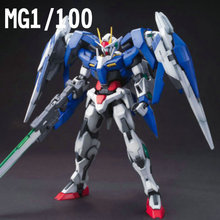 DABAN Gundam 1/100 MG 00 Raiser 00R OO robot action figure plastic model kits toys Japanese anime figures + Lifting win(China)