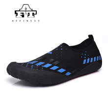 2017 AFFINEST Upstream Shoes For Man Water Shoes Summer Seaside Surfing Quick-drying  Skiing Soft Fitness Beach Shoes EU 39-45