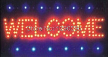 direct selling 10X19 Inch semi-outdoor  Led Neon Sign for store Welcome sign