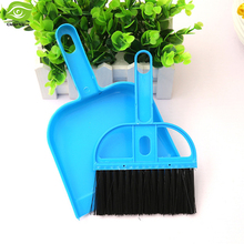 1Set Mini Broom & Dustpan Office Home Car Cleaning Tool Children Use Broom Dustpan Set