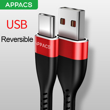 APPACS USB Type C Cable 1.2M Fast Charging Cable USB C Charger Cable Xiaomi 4C Nexus 5X/6P Huawei P9 Data Sync Charger Cable
