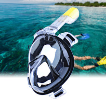 Diving Mask Scuba Mask Underwater Anti Fog Full Face Snorkeling Mask Safe and waterproof Women Men Swimming Snorkel Equipment