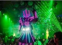 Female robot / female light  clothing/ LED Costumes/LED Clothing/Female LED Robot suits