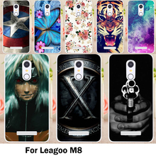 TAOYUNXI Cases Cover For Leagoo M8 Cover M8 Pro 5.7 Inch Bags Skin Soft TPU Silicon Lovely Minions Cell Phone Sheaths(China)