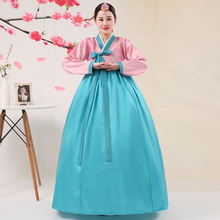Buy 2018 new embroidery korean traditional dress women hanbok korean national costume stage performance costumes for $23.41 in AliExpress store