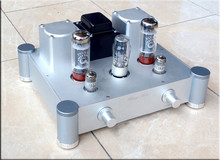 The high quality vacuum tube amplifiers 10W + 10W HIFI EL34 tube amplifier Single-ended Class A Tube Amplifier(China)