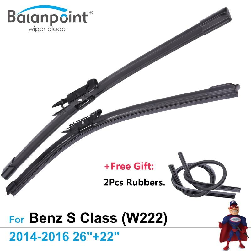 "For Citroen C1 2014-2016 Front Window Windscreen 26/"" Flat Aero Wiper Blade"
