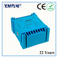 PU3917B Manufacturer Double input and UI type output 20VA 2*110V 2*9V PCB encapsulated transformer