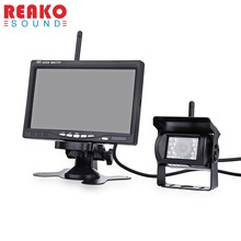 PZ607 - W  Car Monitor Car Truck Reverse Rearview Wireless Rear-view System TFT LCD Colorful Monitor High Definition Camera