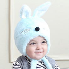 MUQGEW Baby Winter Warm Hat Cartoon Cap Toddler Kids Boy Girl Knitted Crochet Beanie Maio Infantil De Menina Z06(China)