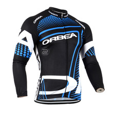 Orbea Winter Thermal Fleece Cycling Jerseys Long Sleeve Ropa Ciclismo MTB Bicycle Rock Racing Bike Clothes Cycling Clothing(China)