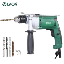 LAOA Brand 810W Multifunction Electric Drills Impact Drill Power Tools for Drilling Ceremic,Cement,Steel board(China)