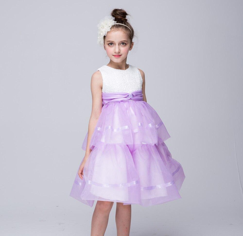 Girls Dress Summer Spring 2017 Girl Children Clothing Brand Performance Kids Dress for Princess Holiday Party Wedding Dress<br><br>Aliexpress