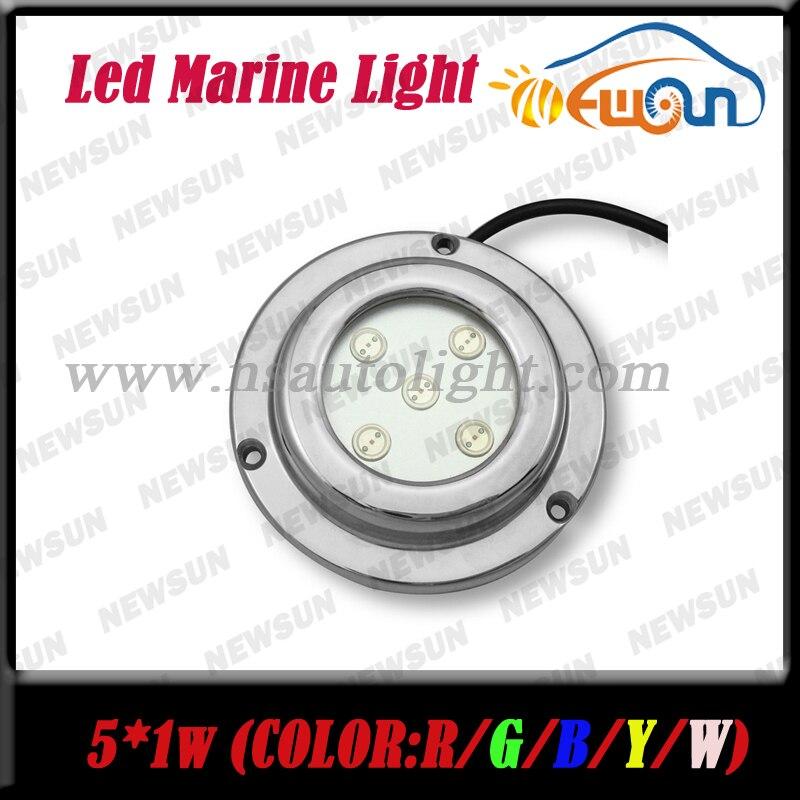 Stainless Steel IP68 Underwater LED Boat Light 12V 5W Yacht Light Red Boat Marine LED Light Undewater Light Lamps Red FreeShip<br><br>Aliexpress