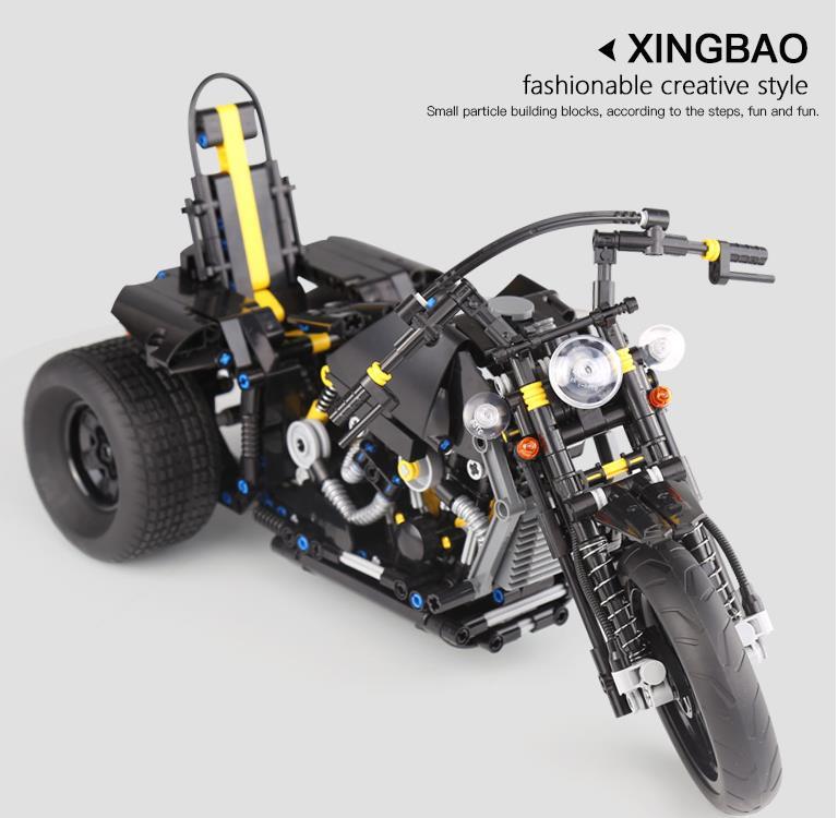 Xingbao XB-03020 Harley Davidson Motorcycle Building Block 45