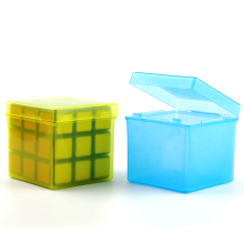 Candy Color Transparent PP Protection Box for 57mm Magic Cube(China)