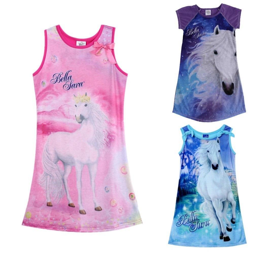 Kids Girls Vest Butterfly Fantasy Printing Sling Beach Blouse Summer Top 2-7T