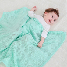 Cotton Knitted Breathable Newborn Photography Props Baby Blanket Kids Crib Sleeping Wrap Blankets Baby Stroller/Car Swaddling