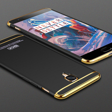 GKK Electroplated 3 in 1 Phone Case for OnePlus 3T 3 Case A3000 Three Hard One Plus 3 Fundas OnePlus3 T Coque Phone Cases Cover