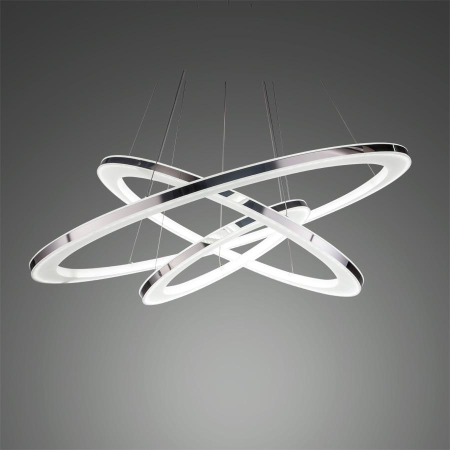 Ecolight Modern Led Pendant Light Led Pendant Lamp Solid Acrylic Stainless Steel 90-265V Suspension Lamp Dinning Pendant<br>