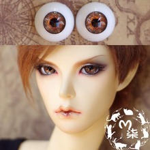 1Pair Retail Mini BJD Doll Accessories 12MM Acrylic Doll Eyes 14MM