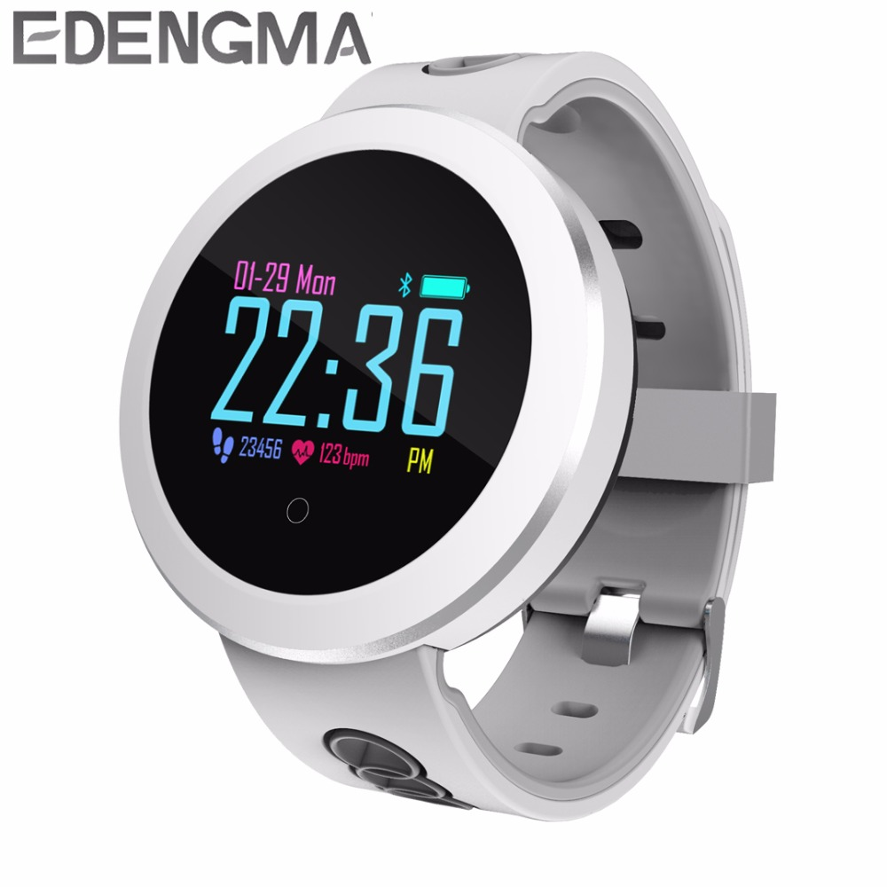 EDENGM Q8 Pro Fashion Smart Band Multi Sports Mode Health Monitor Men