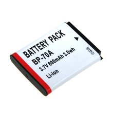 Hot Sale 1pcs BP-70A BP 70A BP70A Rechargeable Camera Battery For Samsung PL80 ES70 SL50 SL600(China)
