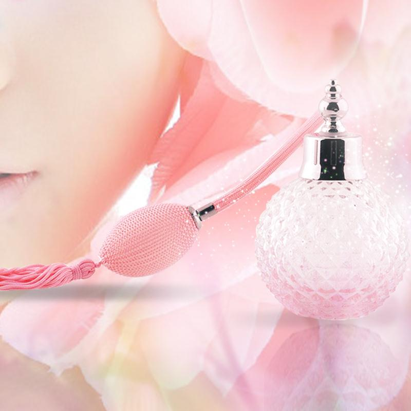 Glass Perfume Bottle 100ml Spray Atomizer Bulb Empty Refillable Lady Unique Gift<br><br>Aliexpress