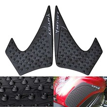 For Yamaha MT-07 MT07 MT 07 2013 2014 2015 2016 Protector Anti slip Tank Pad Sticker Gas Knee Grip Traction Side 3M Decal(China)