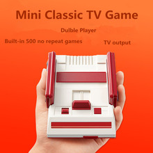 Original Mini Family TV Game console Retro Video Game player high quality pocket Handheld Game Consol with 500 different games