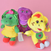 3 Pcs Barney Dinosaur Plush Toy, Baby Kids Doll with Free Shipping(China)