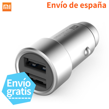 Xiaomi Mi Car Charger Mi 2-in-1 Double USB Fast Charging Car Charger Metal Style SILVER Mobile Phones Tablet PC Quick Charge