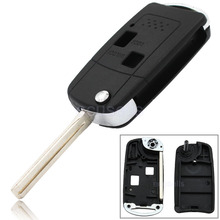 5 Pcs/Lot New Replacement 2 Button Flip Remote Key Case Shell Fob Car Key Cover for Lexus IS200 GS300 RX300 LS400 Uncut Blade