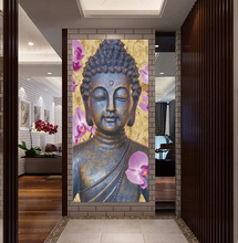 YSDAFEN Abstract Printed Hotoke Buddhism Buddha Painting Picture Cuadros Decor Buda Canvas Art For Bed Room No framed(China)