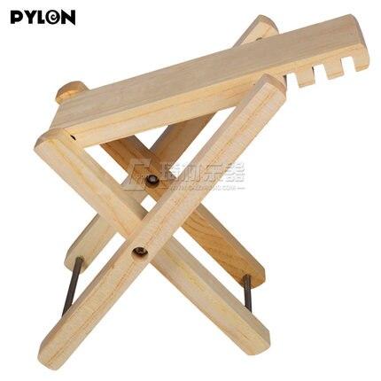 Pylon Guitar Solid Wood Foot Stool Footstool Foot Rest<br>