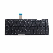 Notebook Computer Replacement Keyboards US Standard Fit For Asus X401 X401A X401U 13GN4O1AP030-1 Laptops Keyboards VCT39 T0.25