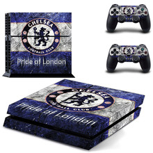 Buy Chelsea Football Club PS4 SKin Sticker Sony PlayStation 4 Console Controllers Dualshock 4 PS4 Skin Sticker for $7.59 in AliExpress store