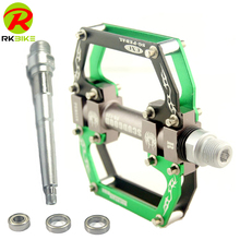 CNC Aluminum Alloy 3 Bearing Folding Mountain bike pedal Bearing bicycle pedal mtb Chromium molybdenum steel pedals D3005JT