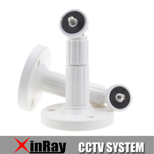 Free Shipping 4pcs 150mm Height Wall Mount Stand Bracket For Security Camera,Base Dia 80mm CCTV Accessories Wholesale XR-AB1(China)
