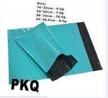 Yu11.28 22*30cm Blue Express Bag Poly Mailer Mailing Bag Envelope Self Adhesive Seal Plastic Bag green