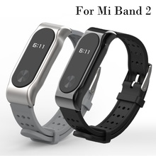 Buy Xiaomi Mi Band 2 Bracelet Strap Replacement Miband 2 Sports wristband metal Strap Wristband Smart Band Accessories Mi Band 2 for $6.99 in AliExpress store