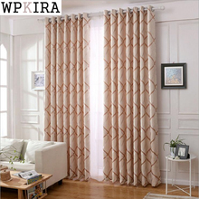 Mediterranean Curtains Living Room Bedroom Small Fresh Cotton Linen Semi-shade Custom Window Curtains Finished Products S300&30(China)