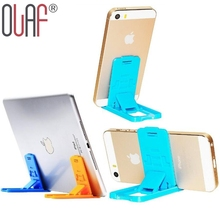 Olaf Universal ABS Mobile Phone Holder Table Desk Phone Stand Holder For iPhone Samsung Smart Phones Delicate Phone Holder