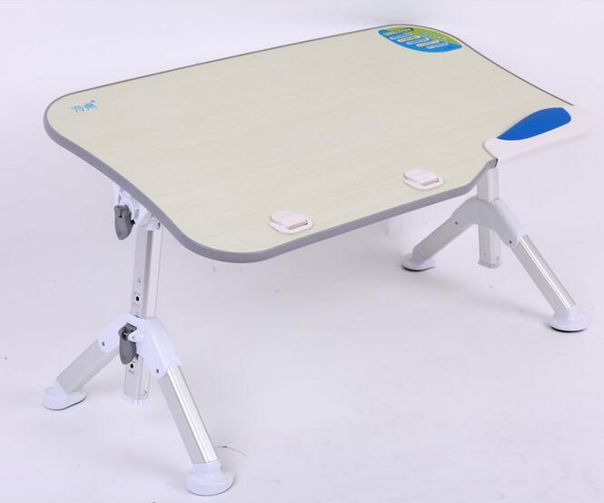 60*33cm Adjustable height Folding Laptop desk Portable lazy household desk